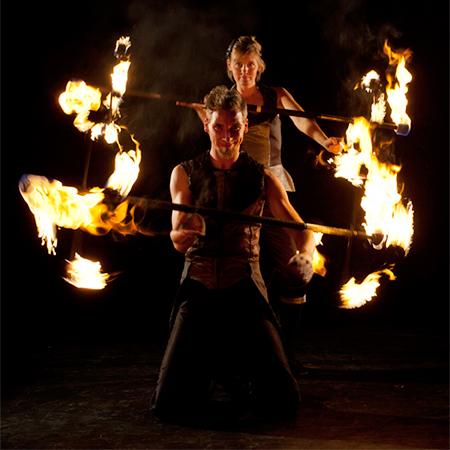 Fenfire - Fire Shows