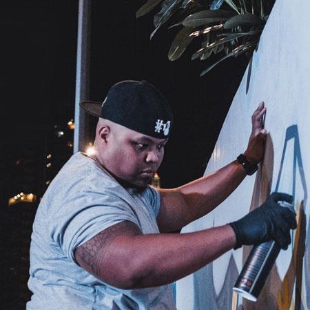 Bonz - Graffiti Artist Dubai