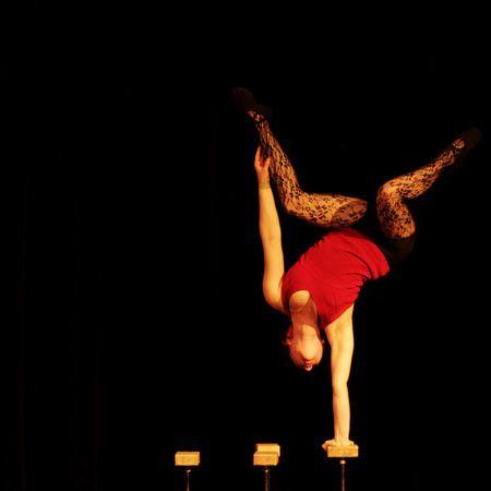 Ines Valarcher - Hand Balancing Contortionist