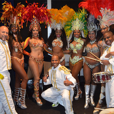 Brazuca Samba Show - Samba Dancers