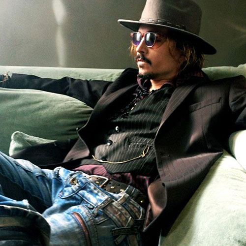 Bernat Costa - Johnny Depp Lookalike