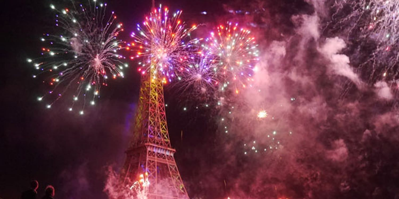 Bastille Day Celebrations On The Seine