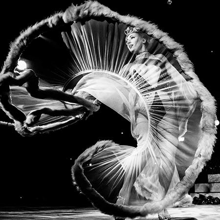 Aria Delanoche Burlesque - All Night Long