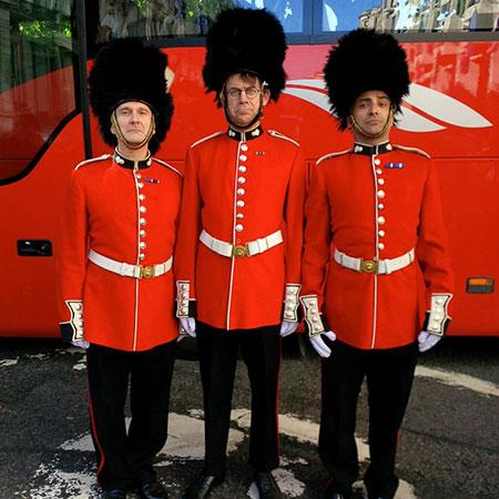 Palace Guards - Royal Footmen