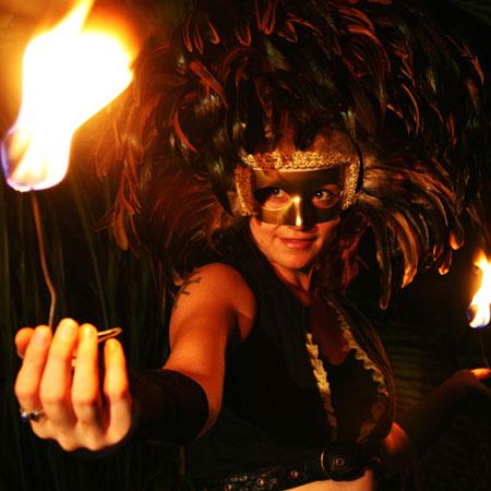 Maggie Mae - Fire Dancer