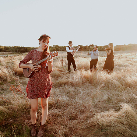 Ponchelina - violin, guitar, uke instrumental cover band