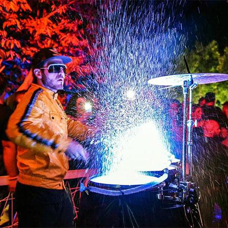 Mario Ciacciarella - Splash Drum Light Show