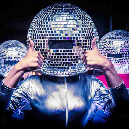 Candi Promotions - Disco Ball Head Walkabout Acts