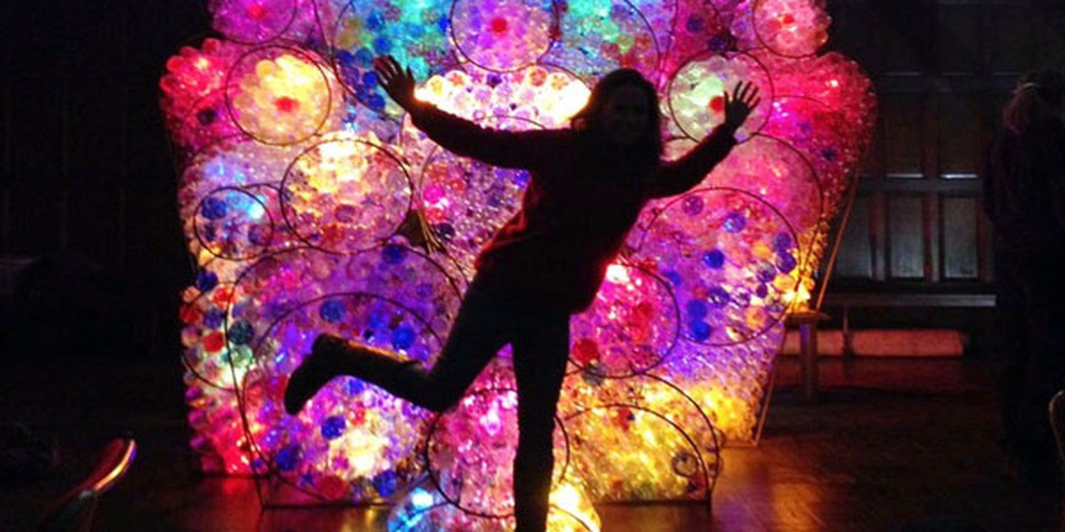 Eco Light Art Installation For Your Christmas Switch On