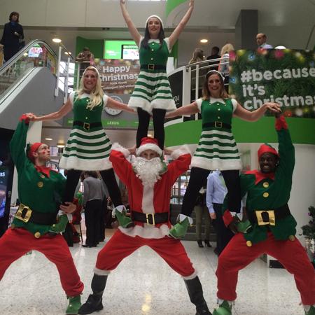 The Dance Mob - Christmas Dancing Elves