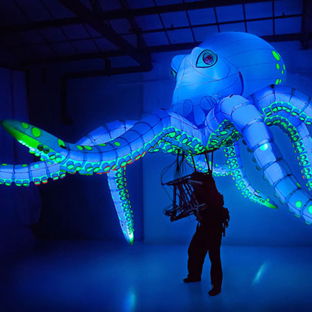 Ocho the Octopus - Giant Octopus Puppet