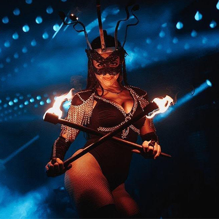 ERIKA POSSE - Fire Shows