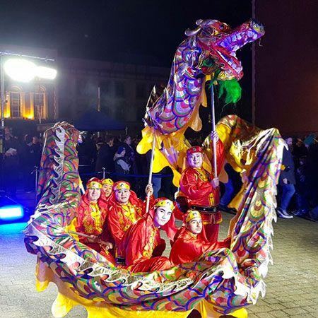 Custom Creations - Custom Shaolin Chinese New Year Show
