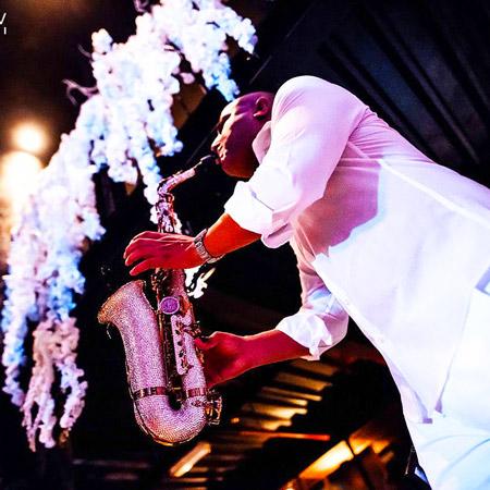 MarciSax - Swarovski Saxophonist