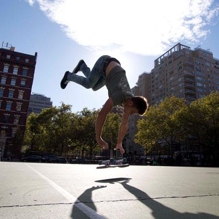 Kyle Hamilton - Freestyle Skateboarder