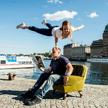 Duo Kate & Pasi - Acrobatic Duo