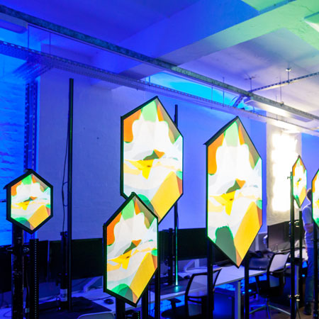 Projection Artworks - Live Video Mapping