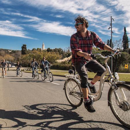 Excursions Barcelona- Montjuïc E-Bike Tour