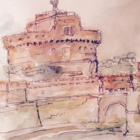 Tour in Rome - Sketching Tour
