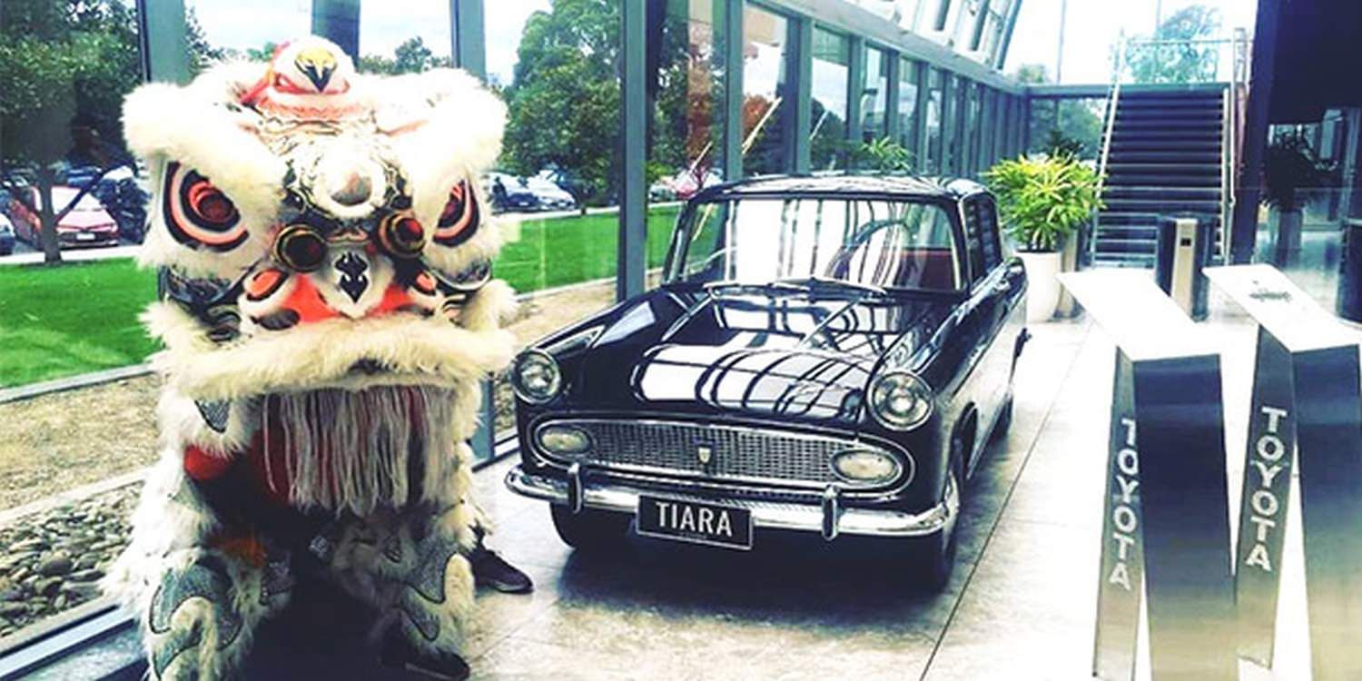 Toyota Australia Welcomes The Year Of The Rat With Traditional Chinese Entertainment
