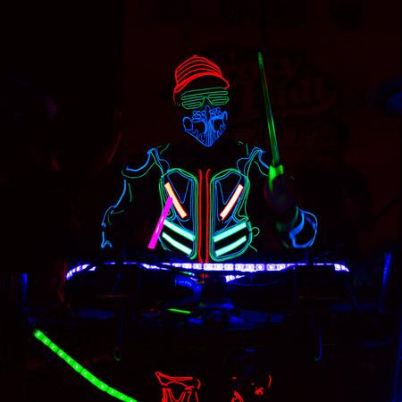 Mario Ciacciarella - LED Drummer