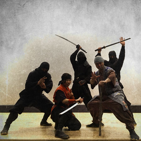 Shinobizero Ninja and Samurai Show