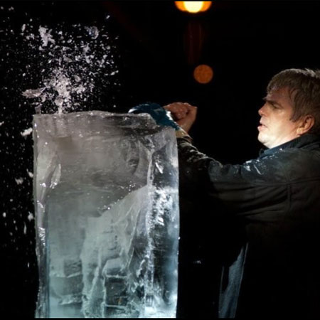 Jean Charles - Ice Sculptor
