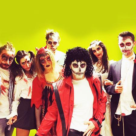 The Vegas Showgirls - Thriller Flashmob