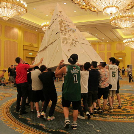 Team Building Asia - Flat Out — Pyramids