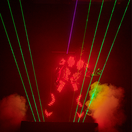 Lady Light - Laserman Act