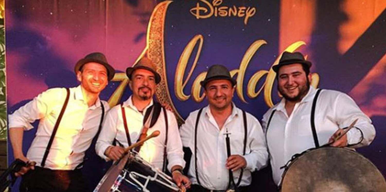 Zaffa Drummers Perform For Disney
