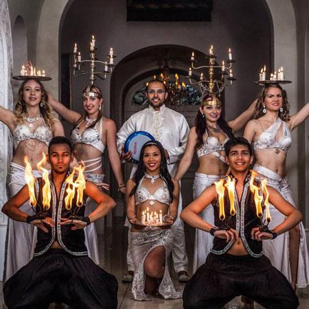 Oriental Fire Dancers