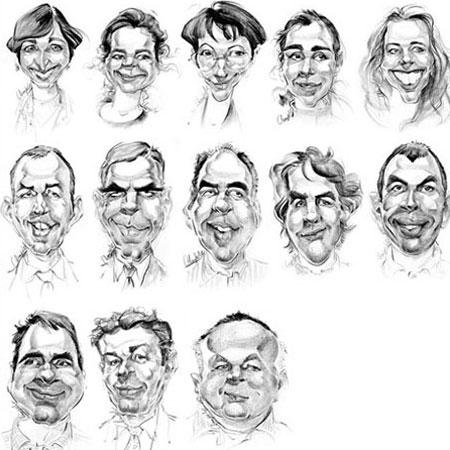 Jean-Paul Lieby - Caricaturist