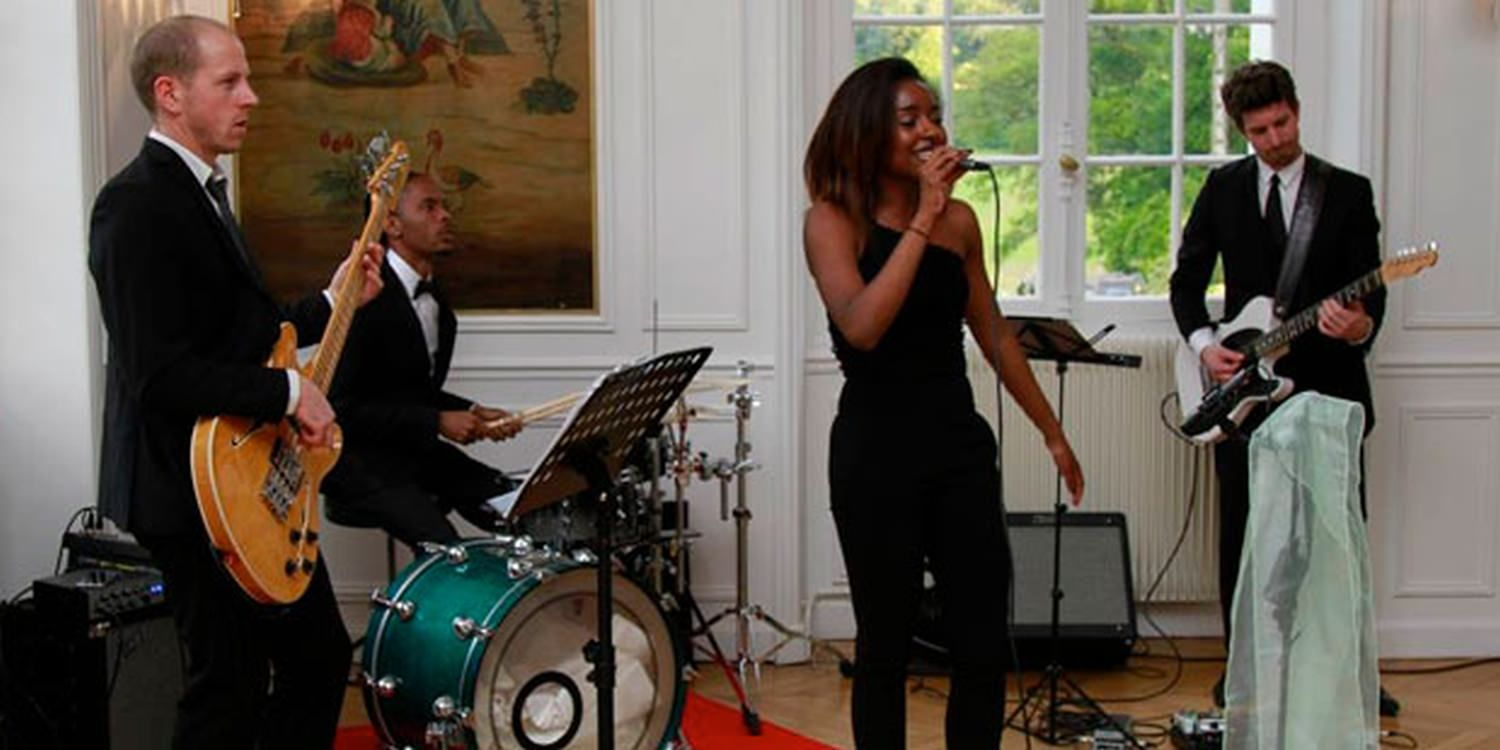 Pop Band Set The Mood At French Wedding