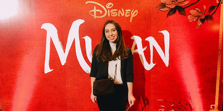 Scarlett Entertainment Attends Mulan's European Premiere in London