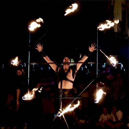 Rho Circus - Fire Performers