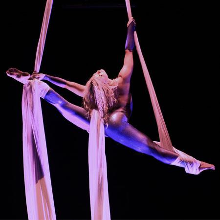 Emelie Sandberg - Aerial Silk