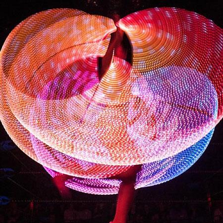 Sophie Adams Ballet Company - LED Ballet & Hula Hoop Show