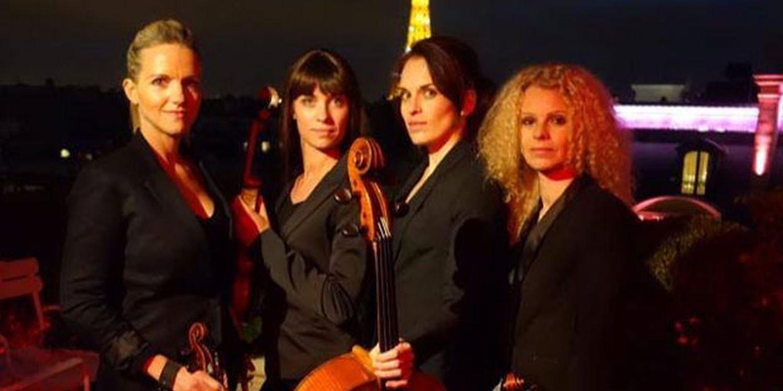 Romantic Paris Proposal With Scarlett Entertainment's String Quartet