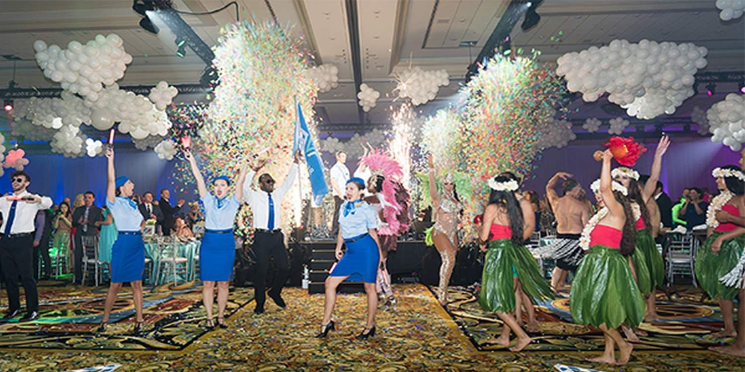 Scarlett Entertainment And Unbridled Production Bring Various Cultures Together At A Corporate Gala In Texas