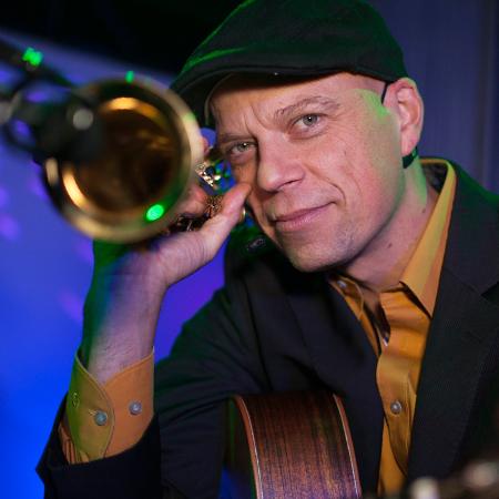 Ralf Olbrich - Sax and Guitarist