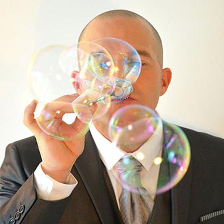 Close Up Bubble Magic