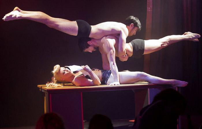 Circus of Men   Leicester Square, London Burlesque Reviews