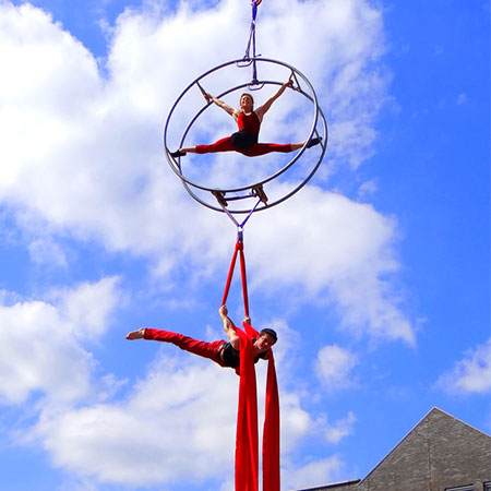 Acrobatic Wheel Sensation - Aerial Acts