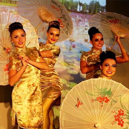 Elegant Art - China Dance Dubai