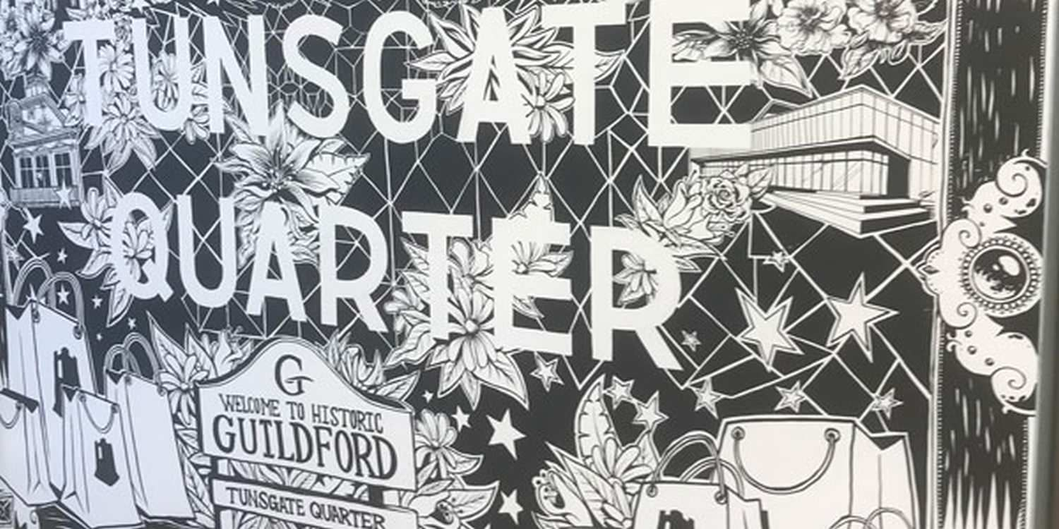 Street Artist Brings Guildford To Life With Impressive Wall Art