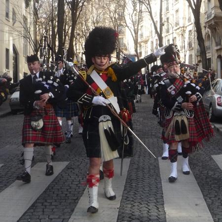 Montmarte Highlanders Pipe Band