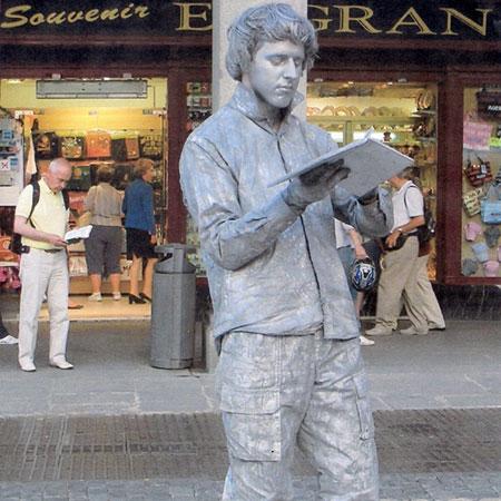 Javi Alonso - Human Statue