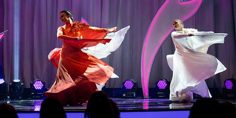 Ethereal Dancers Celebrate International Women's Day on Iranian TV