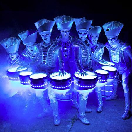 Spark! - LED Drummers